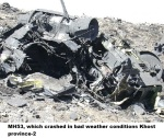 MH53, which crashed in bad weather conditions Khost province-2