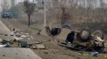 IED wrecked HUMVEE in Afghanistan